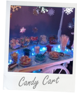 Glasgow Candy Cart Hire for Weddings