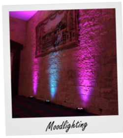 Moodlighting Hire in Glasgow